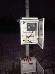подключение электричества