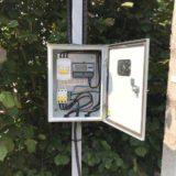 Проект подключения электричества в деревне Мошницы