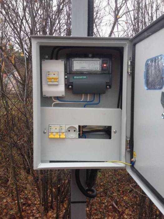 Провести электричество научасток вМытищинском районе