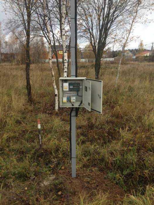 Подключение электричества вСолнечногорском районе