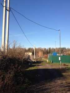 Подключение к электросетям в московской области