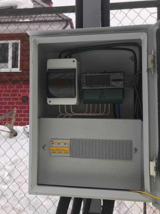 Проведение электричества вдом