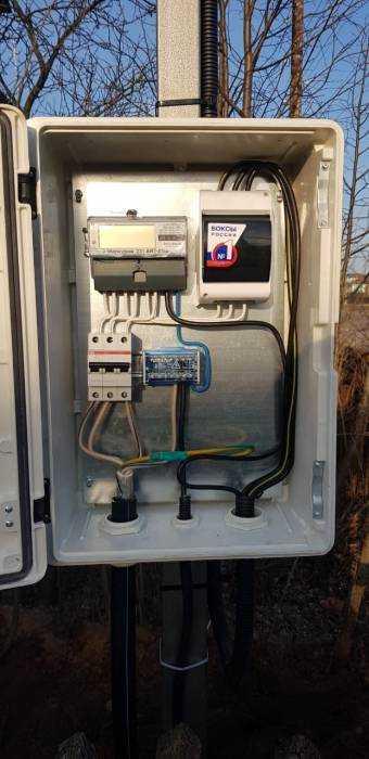 Проведение электричества наземельный участок