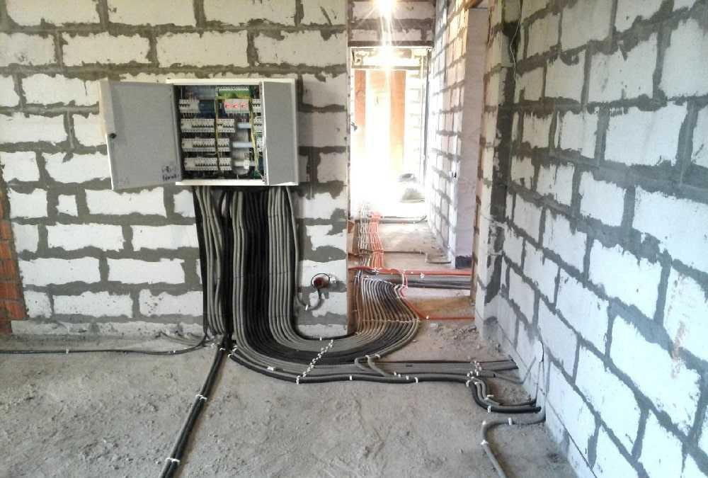 Стоимость электромонтажных работ «под ключ».