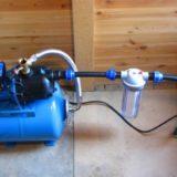 Монтаж насосов водоснабжения